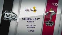 Les Finales NBA sur beIN SPORTS