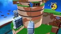 Super Mario Galaxy - Ile flottante - Étoile 1 : La forteresse flottante