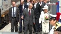 D-Day : la reine Elizabeth II débarque en Eurostar Gare du Nord