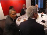 """Débarquement: Obama et Hollande réunis pour un dîner officiel au """"Chiberta"""" - 05/06"""