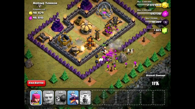 Clash Of Clans Level 47 - Rolling Terror