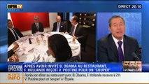 20H Politique: Diplomatic Day: dîner avec Barack Obama et souper avec Vladimir Poutine pour François Hollande - 05/06 1/2