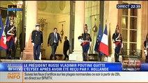 Le Soir BFM: D-Day: François Hollande a reçu la reine Elisabeth II, Barack Obama et Vladimir Poutine - 05/06