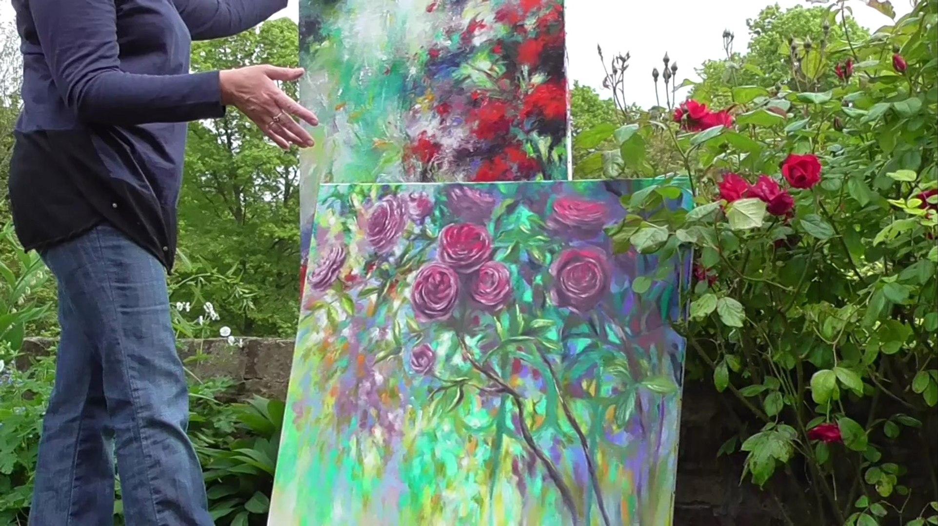 Mary Chaplin Artiste Peintre mary chaplin : nouvel atelier à wailly