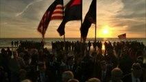 70 ans après le D-Day, le jour se lève sur Omaha Beach