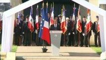 D-Day: Hollande rend hommage aux 20.000 morts civils en Normandie