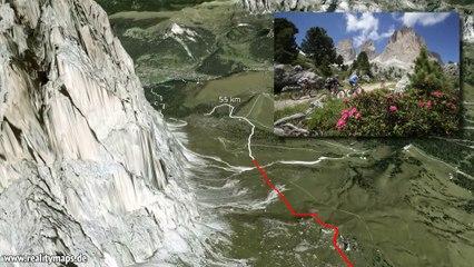 2014 3D Track 62 km Südtirol Sellaronda HERO - Main Player ENG
