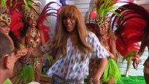 L'accueil de Cathy Guetta à la Cidade do Samba - [EXTRAIT] - 06/06