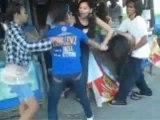 フィリピンの女子の喧嘩