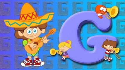 G Harfi - ABC Alfabe SEVİMLİ DOSTLAR Eğitici Çocuk Şarkıları (Türkçe Çizgi Film - Klip)
