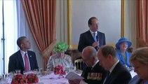 D-Day : Hollande reçoit les chefs d'Etat pour un déjeuner au château de Bénouville