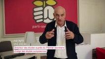 Henri Weber présente les Entretiens de Solférino du 12 juin
