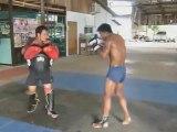 Extreme brutal Muay Thai training - Buakaw Por Pramet