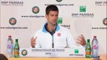 """Roland Garros - Novak Djokovic: """"La única forma de ganar a Nadal es con agresividad"""""""