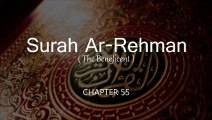 Surrah Rehman - Shiekh Musari Rasshid Al Fasy - Chapter#55 - Al Quran Al Karim - Ayaat 78