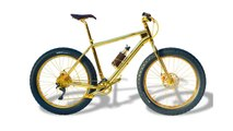Pure Gold 24karat Mountain Bike For $1 Million Is World's Most Expensive