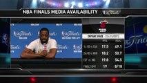 Dwyane Wade Press Conference   Heat vs Spurs   June 06, 2014   NBA Finals 2014