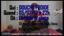 Viens voir Douche Froide au Café de la Plage, viens!