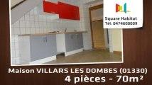 A louer - Maison/villa - VILLARS LES DOMBES (01330) - 4 pièces - 70m²