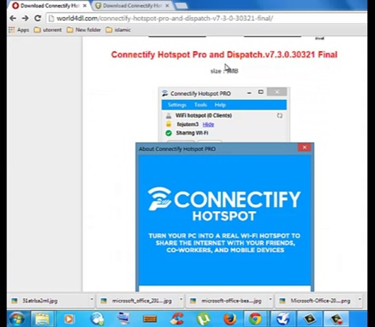 Download Connectify pro 2014!!!