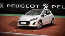 Publicité TV Peugeot 308 Roland Garros - Argentine - Novak Djokovic (20s) - 2014 ( www.feline.cc )
