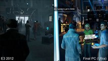 Watch_Dogs - Graphically Downgraded E3 2012 vs PC Ultra