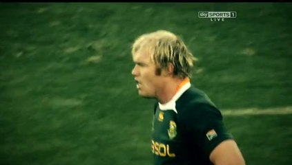 South Africa vs World XV 1st half Rugby Game #1 June 2014