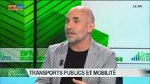 Transports publics et mobilité: Jean-Pierre Farandou, Pierre Serne et Pierre Lahutte, dans Green Business - 08/06 1/4
