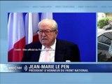"""Jean-Marie Le Pen: """"Je vous mets au défi de trouver une déclaration antisémite dans mes 60 ans de vie publique"""" - 08/06"""