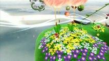 Super Mario Galaxy - Jardins venteux - Étoile 1 : Des lapins dans le vent
