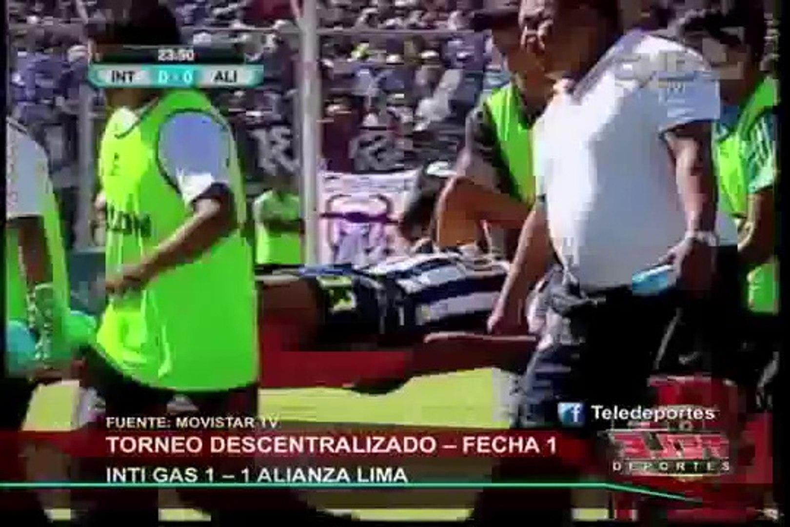 Torneo Apertura: Alianza Lima empató 1 a 1 con Inti Gas en Ayacucho (1/2)