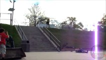 BMX grind faceplant - Fails World