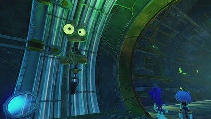5 minutes de gameplay de Sonic Boom : L'Ascension de Lyric