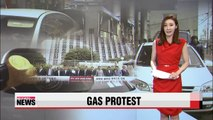 Over 3,000 gas stations to go on strike Thursday