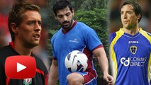 John Abraham's FIFA MANIA With Peter Crouch & Robbie | Cafe Rio