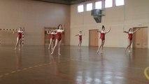 Mouvement d'ensemble ainées concours régional mixte à Morteau le 7 juin 2014