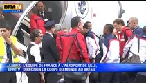Mondial: les Bleus montent dans l'avion pour rejoindre le Brésil - 09/06