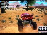 Cars WII - course monster truck 1