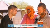 #SydFilmFest  Rob, Guy and David  interviews with Sophie Hull in the Outback (Australian, Sunrise)