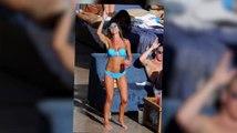 Danielle Lloyd twerks in a bikini in Las Vegas