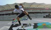GoPro presents GoPro Skate Street With Chris Cole and Friends - 2014 Summer X Games Austin - Skateboard