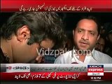 PTI MPA Sindh Assembly Khurram Sher Zaman reached Karachi Airport Cold Storage -- First ever elected member to reach here