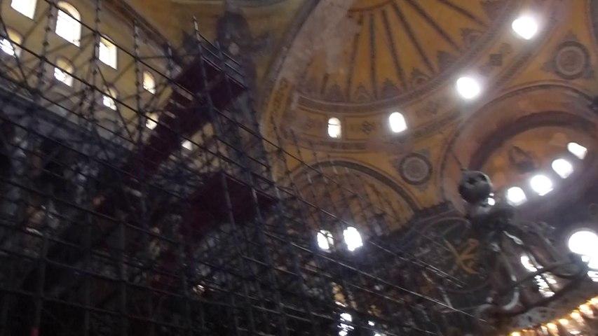 L'intérieur de Sainte-Sophie