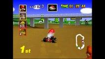 Mario Kart 64 - Coupe Champignon 50cc