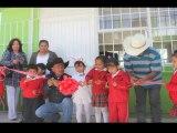 Entrega de Aulas en San Bartolo de Berrios, San Felipe Gto