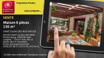 A vendre - maison - SAINT GILDAS DES BOIS (44530) - 6 pièces - 130m²