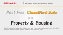 Post Free on:  Property   Housing, Appartments, Rooms and Real Estate Classifieds - Ad Track
