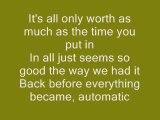 Miranda Lambert Automatic (video lyrics)
