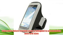 Best buy Black Workout Armband Exercise Carrying Pouch for LG Optimus G Pro (E980) / LG Intuition,