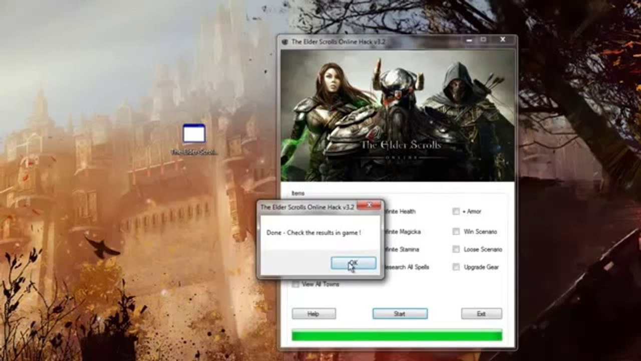 Elder Scrolls Online Hack _ Tested and Working - video dailymotion